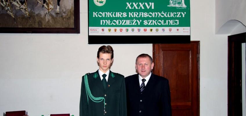 Maciej Doryk – reprezentant województwa podkarpackiego najlepszym krasomówcą w 2011 r.