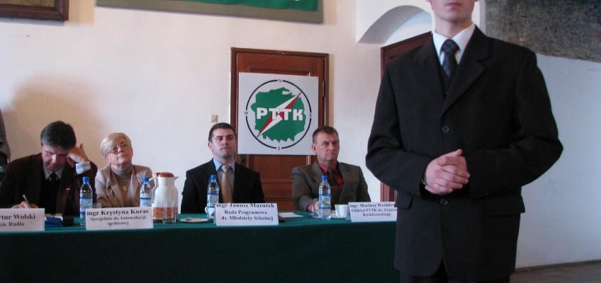 Konrad Żygadło z I LO w Jarosławiu wicemistrzem XXXIX Ogólnopolskiego Konkursu Krasomówczego Młodzieży Szkół Ponadgimnazjalnych