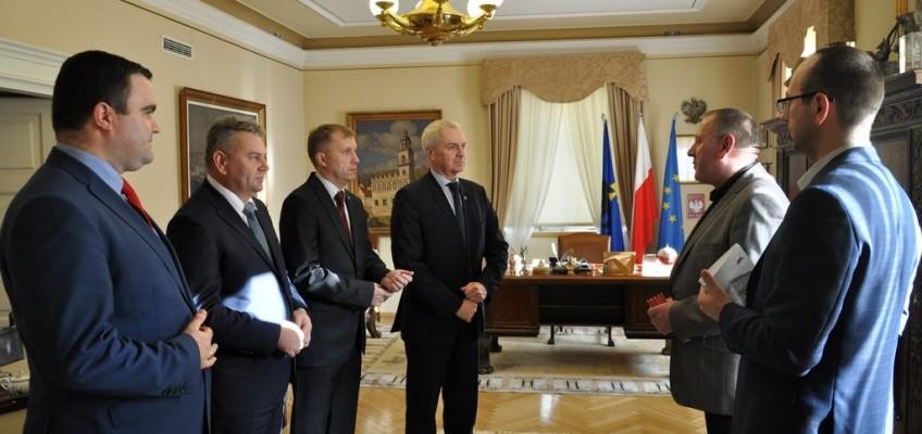 Prezydenci Przemyśla odznaczeni medalami  XL – lecia Oddziału PTSM w Przemyślu