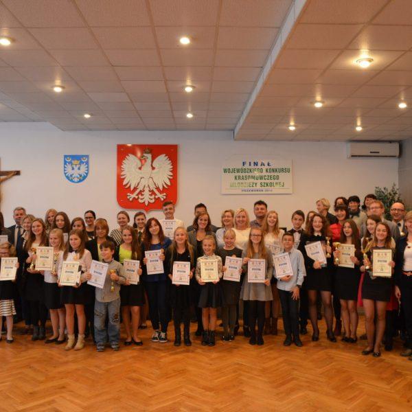 Wojewódzki Konkurs Krasomówczy Dzieci i Młodzieży Szkolnej w Przeworsku