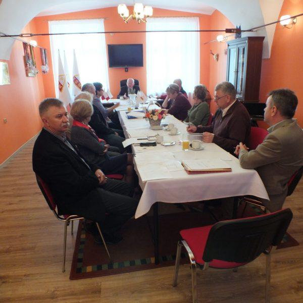 Posiedzenie Zarządu Głównego PTSM w Rzeszowie