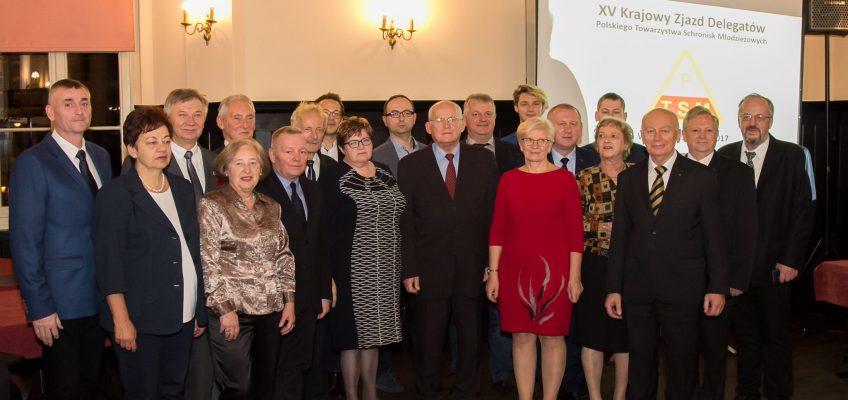 XV Krajowy Zjazd Delegatów Polskiego Towarzystwa Schronisk Młodzieżowych Wrocław 3-5 Listopada 2017 r.